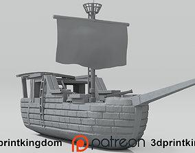 Pirate Ship vehicles 3D printable model