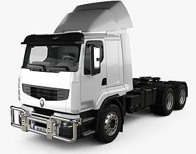 3D Renault Premium Lander Tractor Truck 3-axle 2006