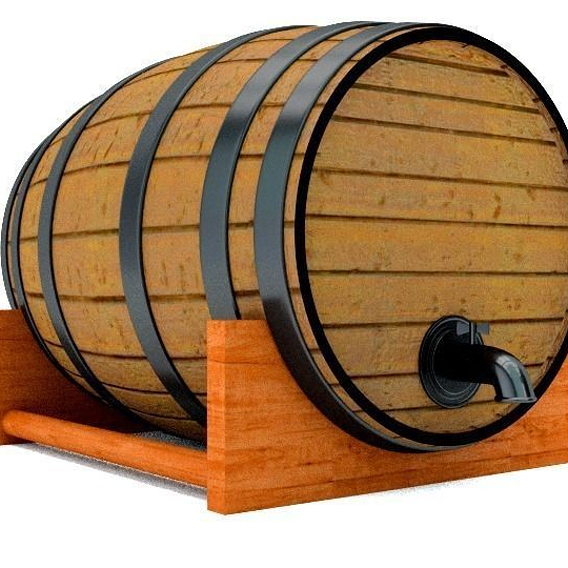 Barrel With a Spicket