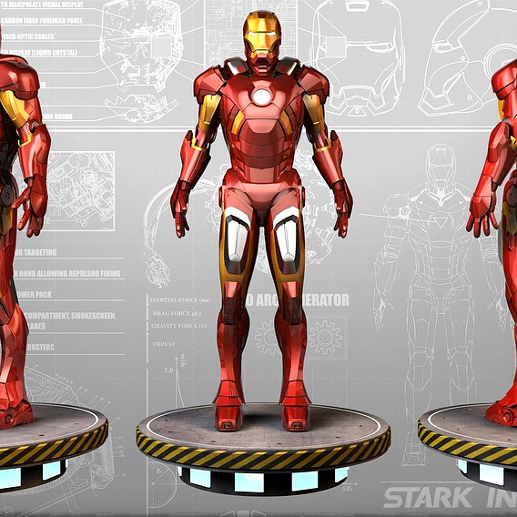 Ironman Mark VII Prototype