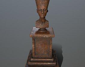 Nefertiti 3D model realtime