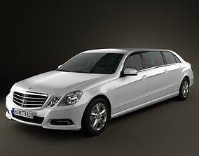 Mercedes Binz E-class Limousine 3D