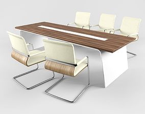 Desk with chair series SENOR 3D