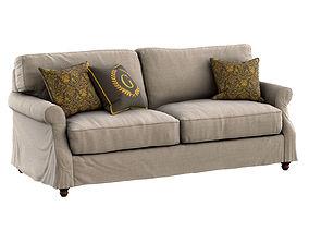 Tifton Sofa Slipcover furniture 3D