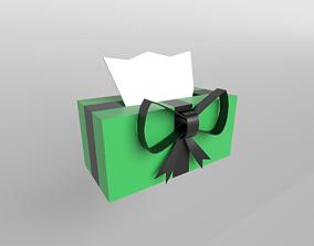 3D model Present Tissue Box v1 003
