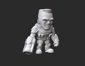 Soldier Doom Collectable Toy 3D Model STL File