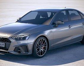 Audi A4 S-line 2020 3D model