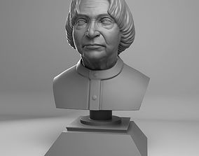 APJ Abdul Kalam Azaad Bust 3D print model