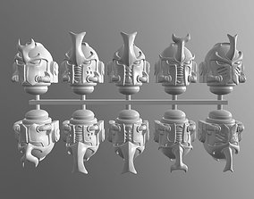thousand 3D print model space helmets mk- 9ksons