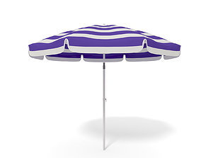 Beach Parasol - Umbrella 3D model