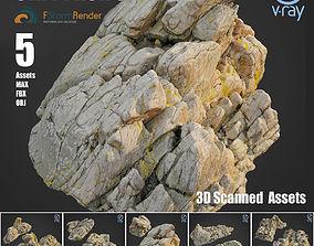 Cliff pack C bundle max 3D model