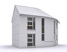 Townhouse 06 3D asset