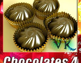 3D Chocolate Candy 04 High res