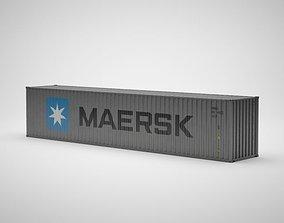 Cargo Container - MAERSK - Contenedor de carga 3D model