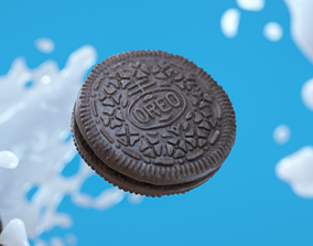 Oreo Cookie Photoscan 3D model