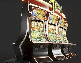 3D model casino Texas slot machine
