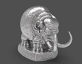 Baby Woolly Mammoth desktop miniature 3D print model