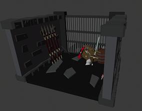 Dungeon Loot Room 3D model
