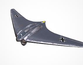 Horten Ho 229 Low-poly PBR 3D model