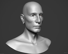 Male Native American - Character Bust 3D model