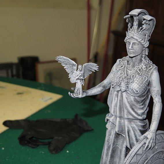Goddess Athena for Diorama mithcloth Saintseiya