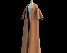 Women kimono - cloak - coat - Marvelous Designer 3D model