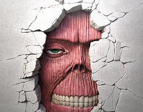 3D print model Attack On Titan - Wall Titan