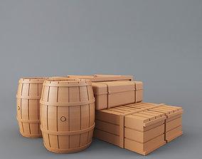 Barrel Box barrel 3D print model