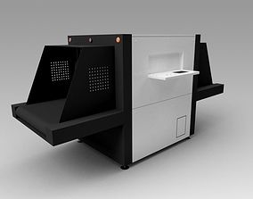 Baggage X-Ray Scanner PX208 3D model