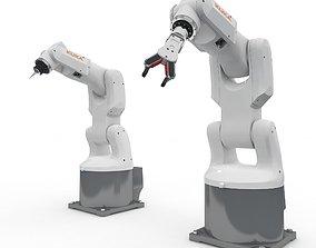 Robot Arm Kuka Agilus KR3 540 3D model animated