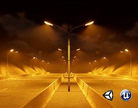 Urban Streetlight 3D asset