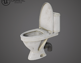 Old toilet 3D model
