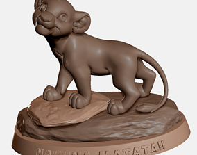 Simba The Lion King - Hakuna Matata 3D print ready model
