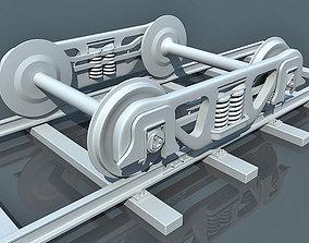 Train Wheels 1 3D model