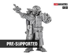3D print model Ice Warriors - Tank commander of the 1