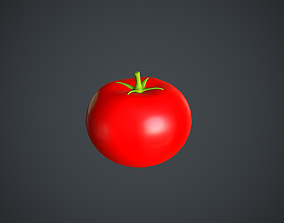 3D asset Tomato Cartoon