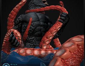 Kong Vs Giant Squid 3d printable