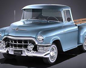 Generic Classic Pickup 1950 3D model
