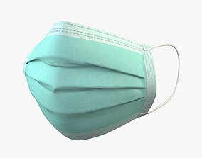 3D model Surgical Mask treatment