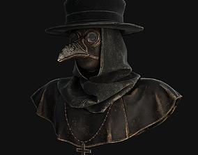 3D asset Plague doctor