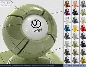 Architectural Vray materials for 3ds Max - Ceramic 1