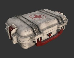 First Aid Kit Medical Supplies 3D model