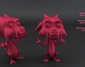 3D print model Mushu Funko Style
