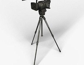 Camera on the tripod 3D model
