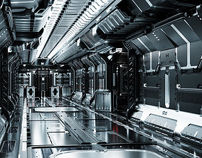 25 Sci-Fi 3D models - Interior Asset Pack