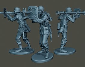 3D printable model German soldier ww2 Shoot Stand G4