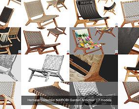 3D Hemase Collection NAIROBI Garden Armchair