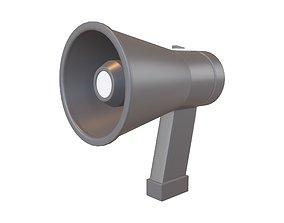 3D asset Loudspeaker v1 003