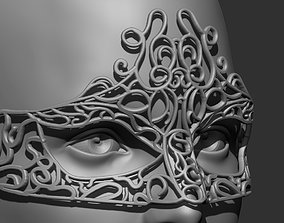 3D printable model Masquerade mask