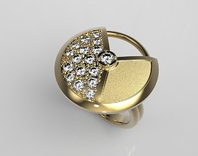 Women ring 3D printable model women